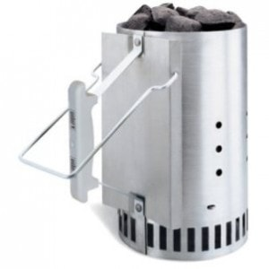 Light it Right with a Weber Rapidfire Chimney Starter
