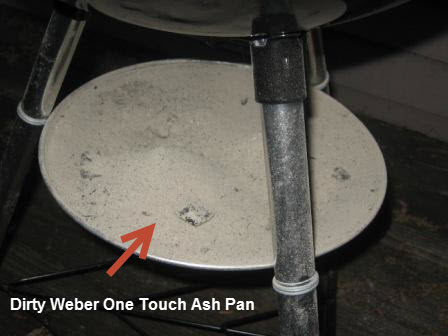 How can I Easily Remove Ashes from my Weber One Touch Silver ...