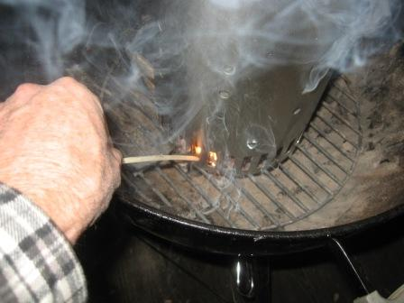 How to Light a Charcoal Grill with a Chimney Starter