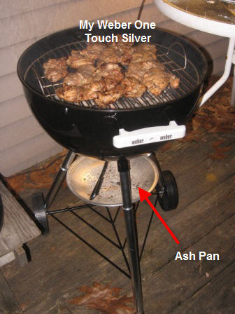 how can i easily remove ashes from my weber kettle grill. Black Bedroom Furniture Sets. Home Design Ideas