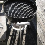 Can I use my Charcoal Grill on a Wooden Deck?