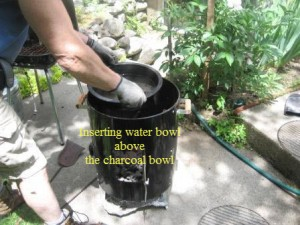 Inserting Water Bowl