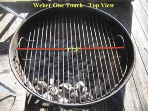 One Touch Silver Grate Dimensions