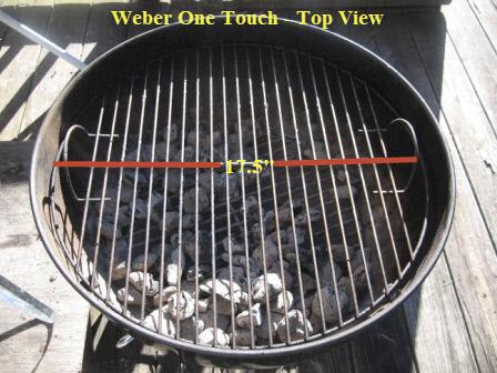 Weber Holzkohlegrill One Touch : Weber one touch original avec weber original kettle premium