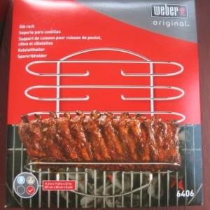 Weber rib rack box