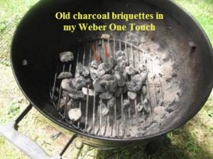 Leftover briquettes