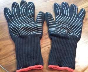 Weber Grill Gloves Palm Up