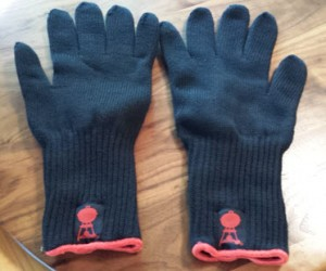 Weber Grill Gloves Palms Down