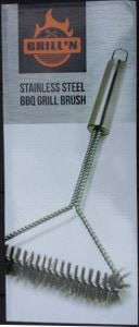 BBQ Grill Brush in Box