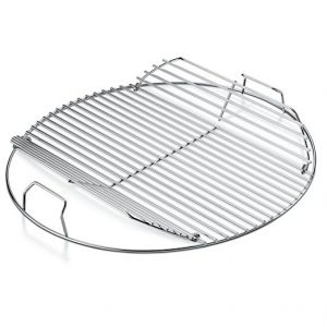 A Weber Hinged Cooking Grate is a Handy Upgrade for your Weber Grill
