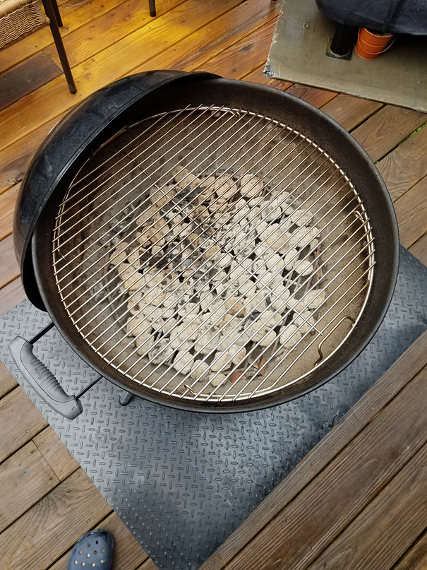 The Best Charcoal Grill Is The Weber 22 Inch Charcoal