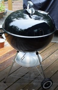The Best Charcoal Grill is the Weber 22 Inch Charcoal Kettle Grill
