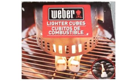 Weber Lighter Cubes FEATURE NEW