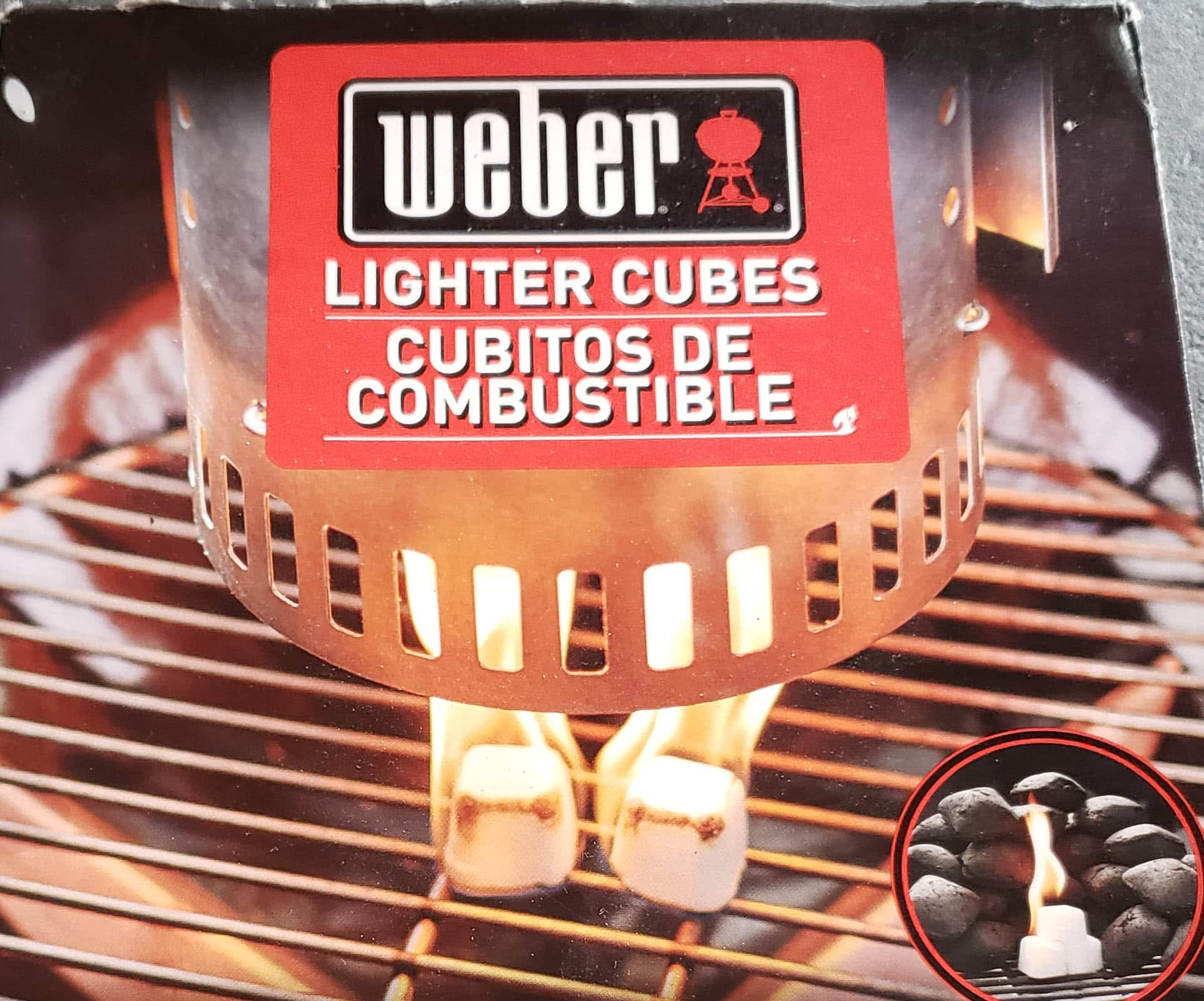 Weber Lighter Cubes