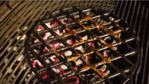 When is the best time to clean a grill grate?